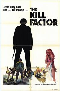 The Kill Factor - 27 x 40 Movie Poster - Style A
