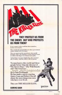 The Killer Elite - 27 x 40 Movie Poster - Style C