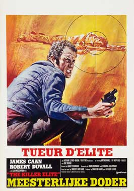 The Killer Elite - 27 x 40 Movie Poster - Belgian Style A