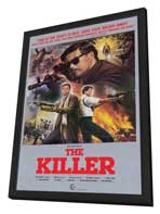 The Killer - 11 x 17 Movie Poster - Style A - in Deluxe Wood Frame