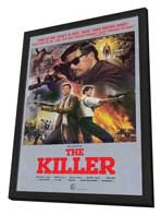 The Killer - 27 x 40 Movie Poster - Style A - in Deluxe Wood Frame
