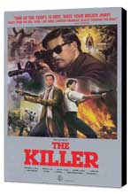The Killer - 27 x 40 Movie Poster - Style A - Museum Wrapped Canvas