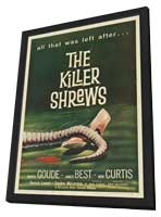 The Killer Shrews - 11 x 17 Movie Poster - Style B - in Deluxe Wood Frame