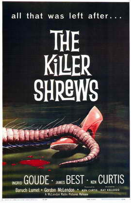 The Killer Shrews - 11 x 17 Movie Poster - Style A