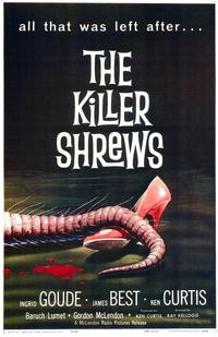 The Killer Shrews - 43 x 62 Movie Poster - Bus Shelter Style A