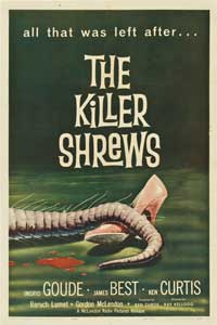 The Killer Shrews - 11 x 17 Movie Poster - Style B