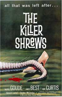The Killer Shrews - 20 x 40 Movie Poster - Style A