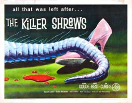 The Killer Shrews - 11 x 17 Movie Poster - Style C