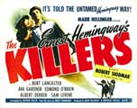 Killers, The - 11 x 17 Movie Poster - Style C