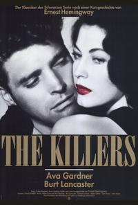 Killers, The - 27 x 40 Movie Poster - German Style A