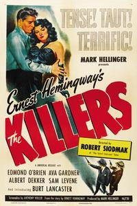 Killers, The - 11 x 17 Movie Poster - Style E