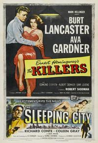 Killers, The - 27 x 40 Movie Poster - Style D