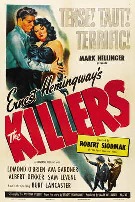 Killers, The - 27 x 40 Movie Poster - Style E