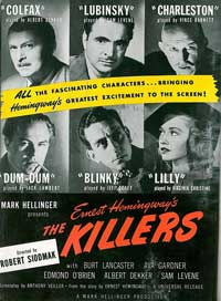 Killers, The - 11 x 17 Movie Poster - Style A