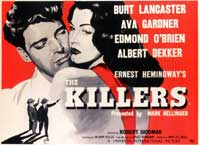 Killers, The - 11 x 17 Movie Poster - UK Style A
