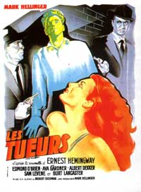 Killers, The - 27 x 40 Movie Poster - French Style A