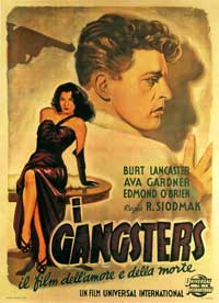 Killers, The - 11 x 17 Movie Poster - Italian Style B