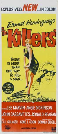 Killers, The - 13 x 30 Movie Poster - Australian Style A