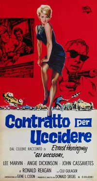 Killers, The - 13 x 28 Movie Poster - Italian Style A