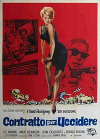 Killers, The - 11 x 17 Movie Poster - Italian Style C