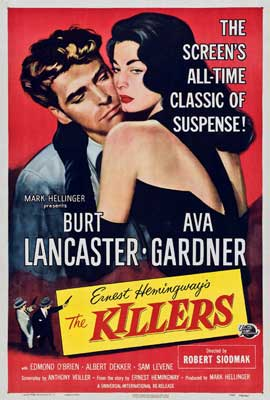 Killers, The - 27 x 40 Movie Poster - Style B
