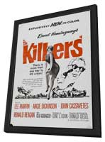 The Killers - 11 x 17 Movie Poster - Style A - in Deluxe Wood Frame