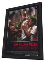 The Killing Fields - 11 x 17 Movie Poster - Style A - in Deluxe Wood Frame