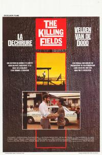 The Killing Fields - 11 x 17 Movie Poster - Belgian Style B