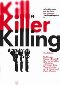 The Killing - 11 x 17 Movie Poster - German Style A