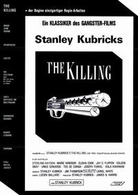 The Killing - 11 x 17 Movie Poster - German Style B
