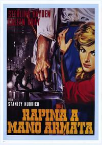 The Killing - 27 x 40 Movie Poster - Italian Style A