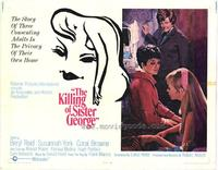 The Killing of Sister George - 22 x 28 Movie Poster - Half Sheet Style A