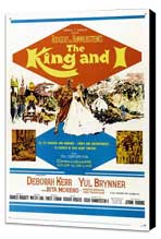 The King and I - 11 x 17 Movie Poster - Style C - Museum Wrapped Canvas