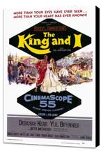 The King and I - 27 x 40 Movie Poster - Style A - Museum Wrapped Canvas