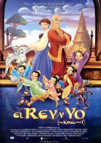 The King and I - 27 x 40 Movie Poster - Spanish Style A
