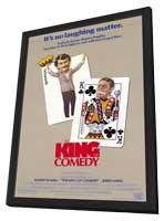 The King of Comedy - 27 x 40 Movie Poster - Style A - in Deluxe Wood Frame