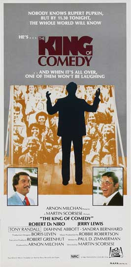 The King of Comedy - 13 x 30 Movie Poster - Australian Style A