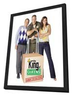 The King of Queens - 11 x 17 TV Poster - Style D - in Deluxe Wood Frame