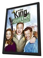 The King of Queens - 27 x 40 TV Poster - Style B - in Deluxe Wood Frame