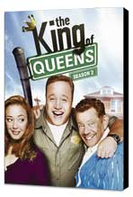 The King of Queens - 27 x 40 TV Poster - Style B - Museum Wrapped Canvas