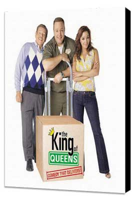 The King of Queens - 11 x 17 TV Poster - Style D - Museum Wrapped Canvas