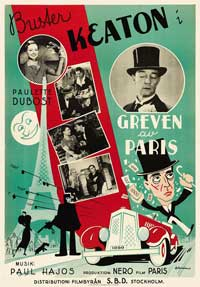 The King of the Champs Elysees - 11 x 17 Movie Poster - Swedish Style A
