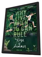 The Kings of Summer - 27 x 40 Movie Poster - Style A - in Deluxe Wood Frame