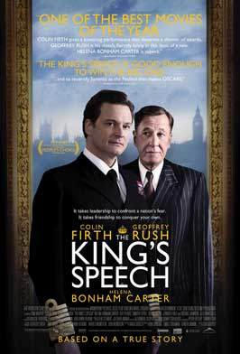The King's Speech - 27 x 40 Movie Poster - Canadian Style A