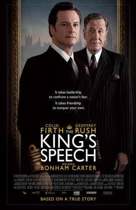 The King's Speech - 11 x 17 Movie Poster - UK Style B
