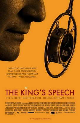 The King's Speech - 11 x 17 Movie Poster - Style B