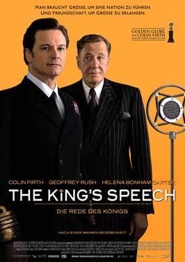 The King's Speech - 11 x 17 Movie Poster - German Style A