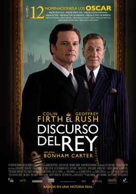 The King's Speech - 11 x 17 Movie Poster - Spanish Style B