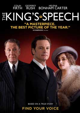 The King's Speech - 43 x 62 Movie Poster - Bus Shelter Style A