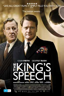 The King's Speech - 11 x 17 Movie Poster - Australian Style B